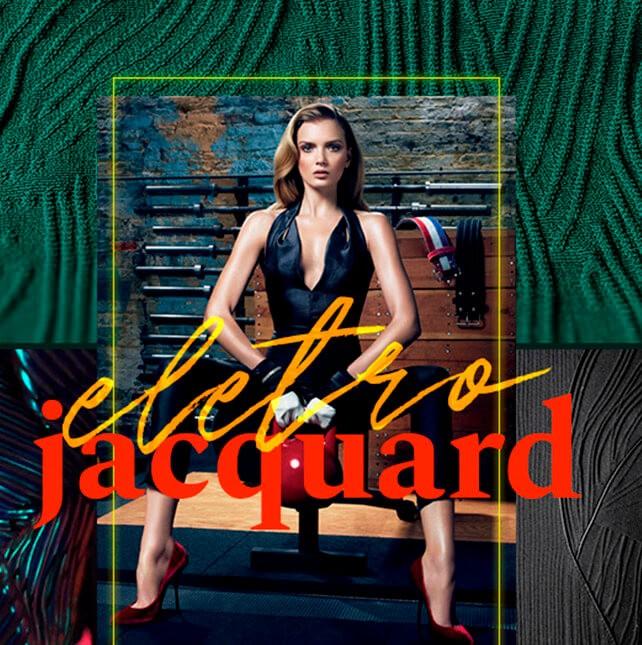 Lançamento: Tecido Eletro Jacquard