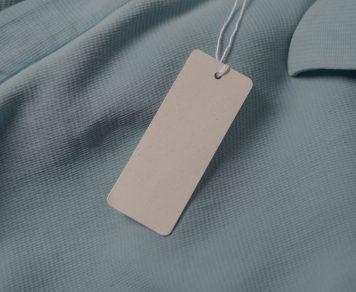 tags para roupas